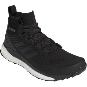 adidas TERREX Free Hiker Gore-Tex Zapatillas de senderismo Hombre, core black/grey three/active orange